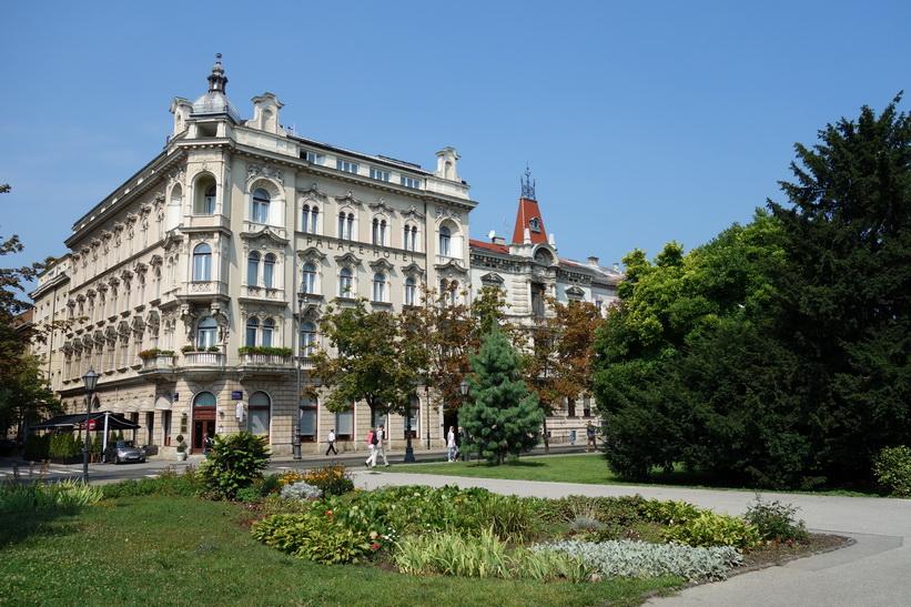 Palace Hotel, Zagreb.