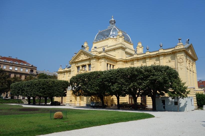 Art Pavilion, Zagreb.