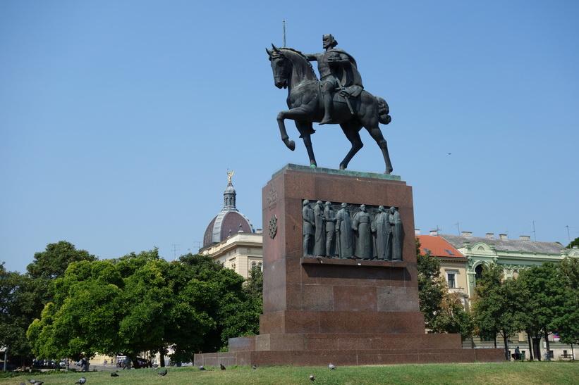 Kung Tomislav-monumentet, Zagreb.