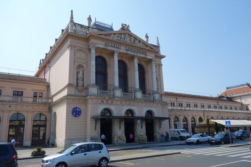 Centralstationen i Zagreb.