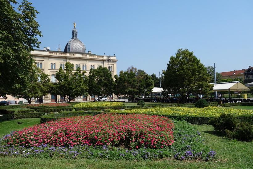 Bibliotek i centrala Zagreb.