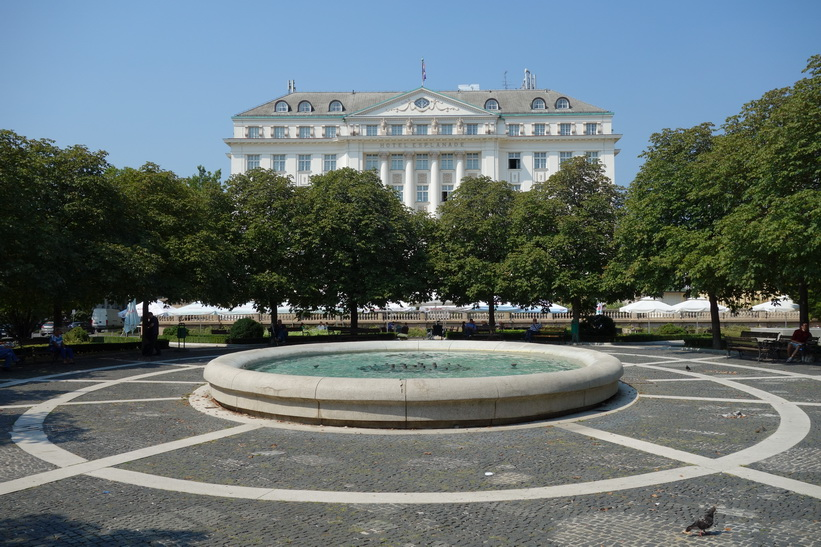 Esplanade Hotel, Zagreb.
