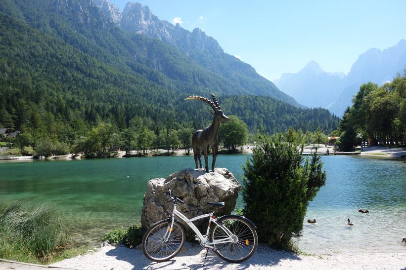 Cykelturen till Vršič Pass.