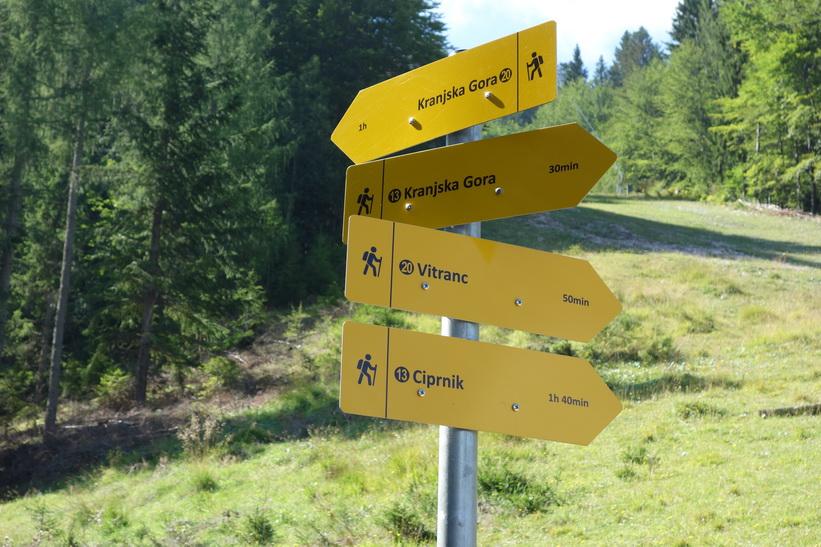 En bit på väg. Vandringen från Kranjska Gora upp till Ciprnik.