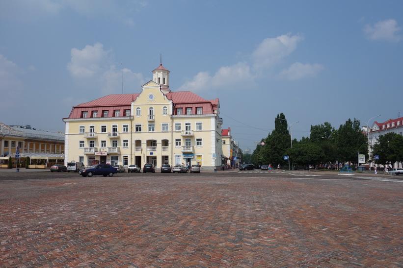 Torget (Krasna) i Tjernihiv.