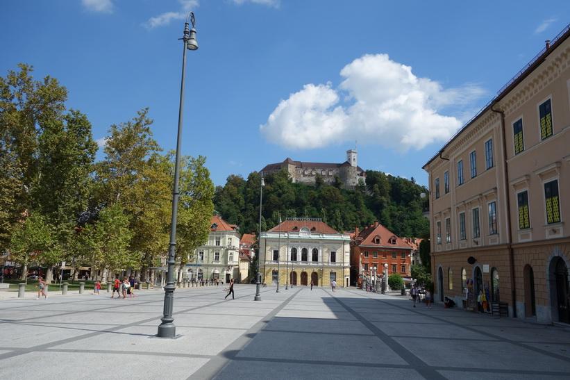 Congress square, Ljubljana.