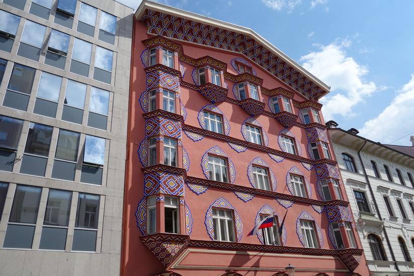 Fantastisk arkitektur, Ljubljana.