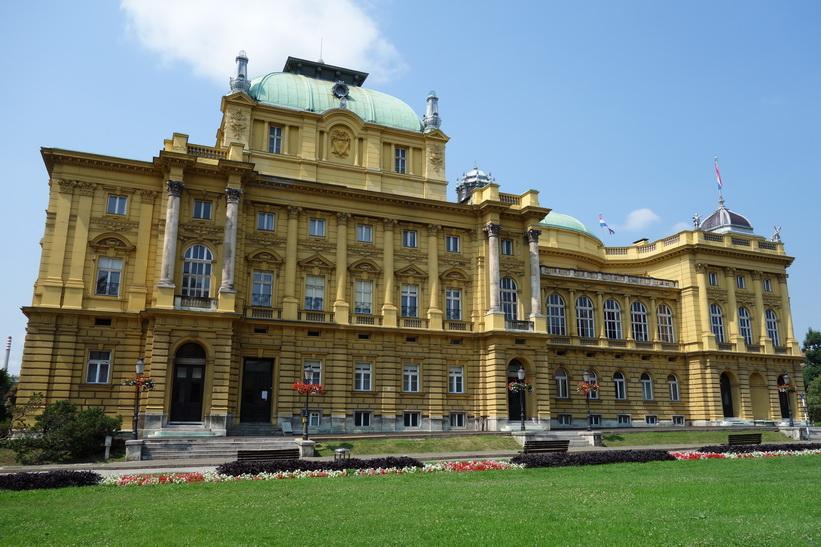 Kroatiska nationalteatern i Zagreb.