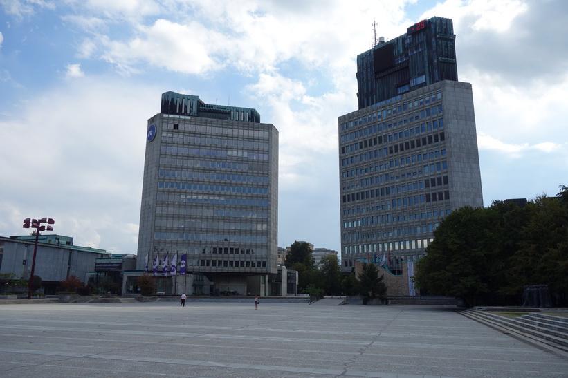 Republic Square, Ljubljana.