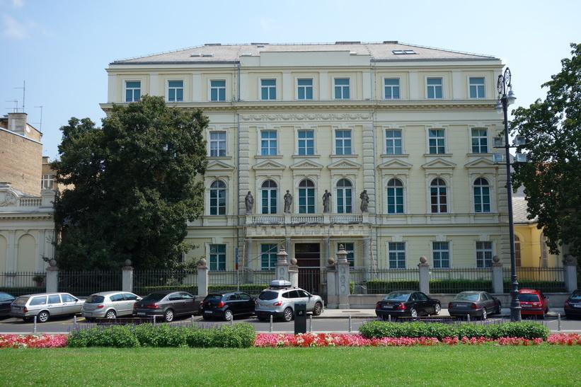 Fin arkitektur i centrala Zagreb.