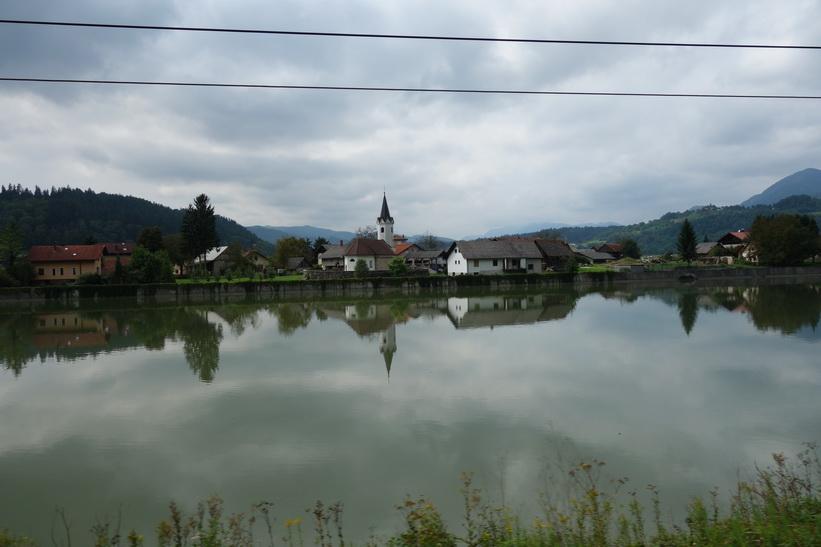 Någonstans ute på den slovenska landsbygden.
