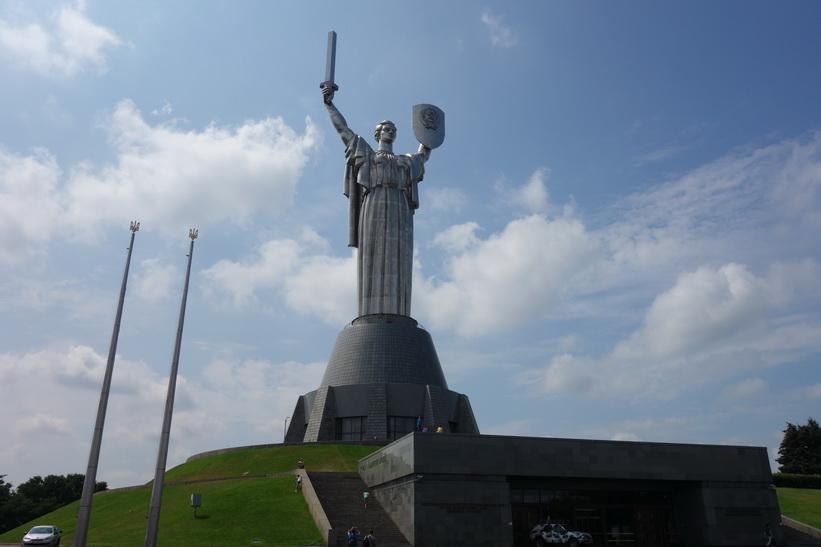 Moderlandsmonumentet, Kiev.