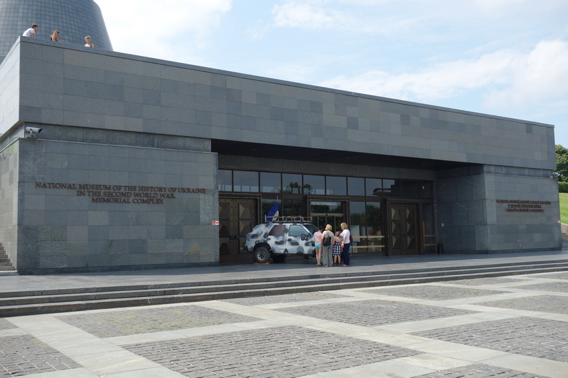 National museum of the history of Ukraine in the second world war, i anslutning till moderlandsmonumentet, Kyiv.