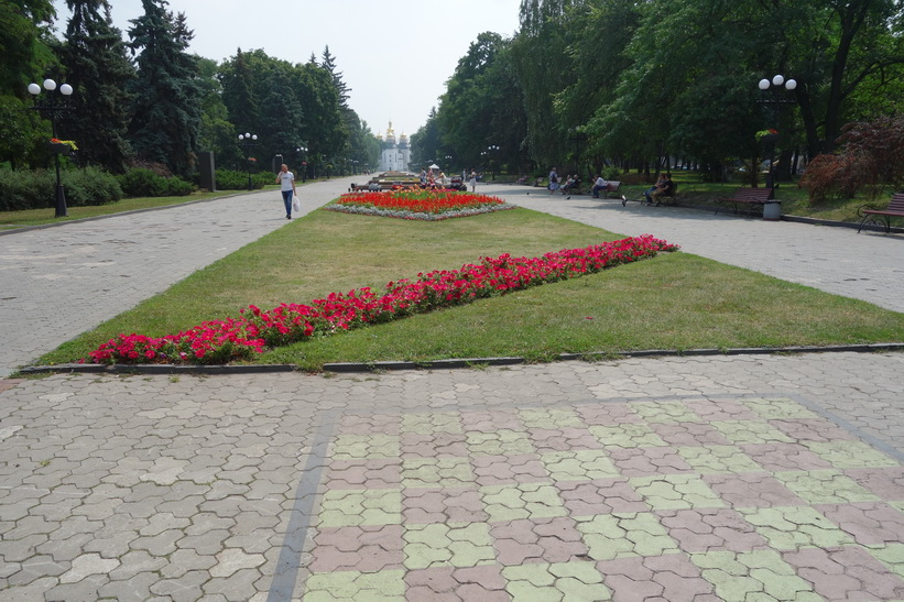 Alley of Heroes, Tjernihiv.