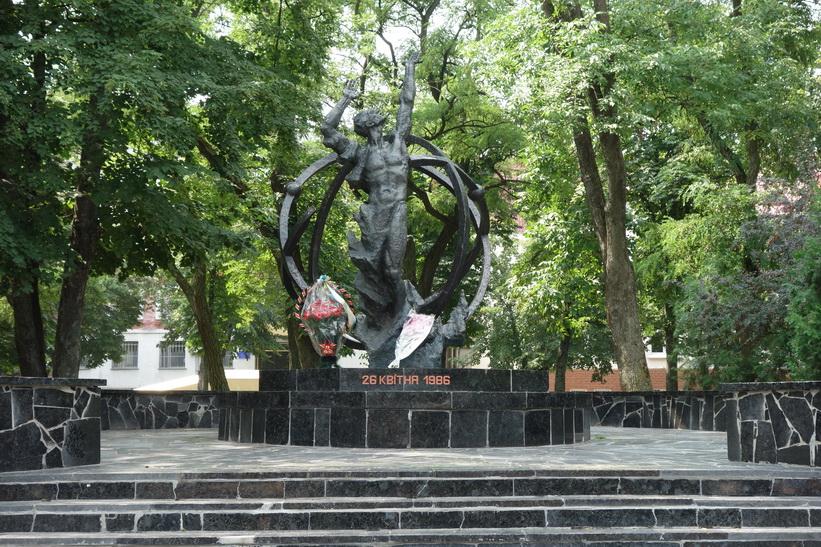 Monument för offren i Tjernobyl-katastrofen, Tjernihiv.