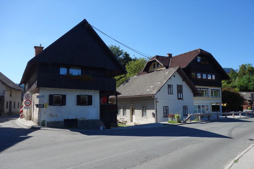 Hus vid Lake Bled, Bled.