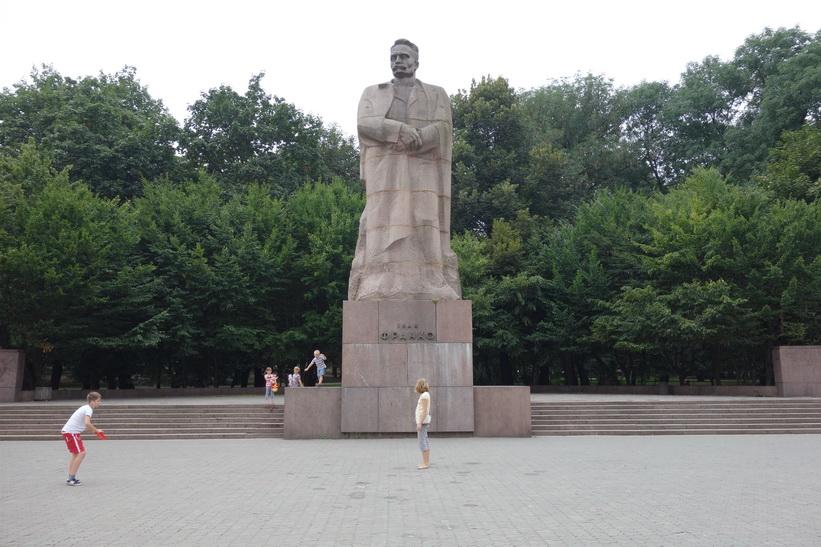 Monument to Ivan Franko, Ivan Franko park, Lviv.