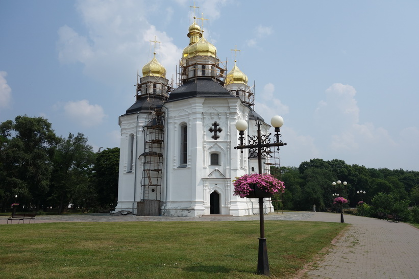 Saint Catherine's Church, Tjernihiv.