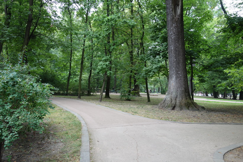Ivan Franko park, Lviv.