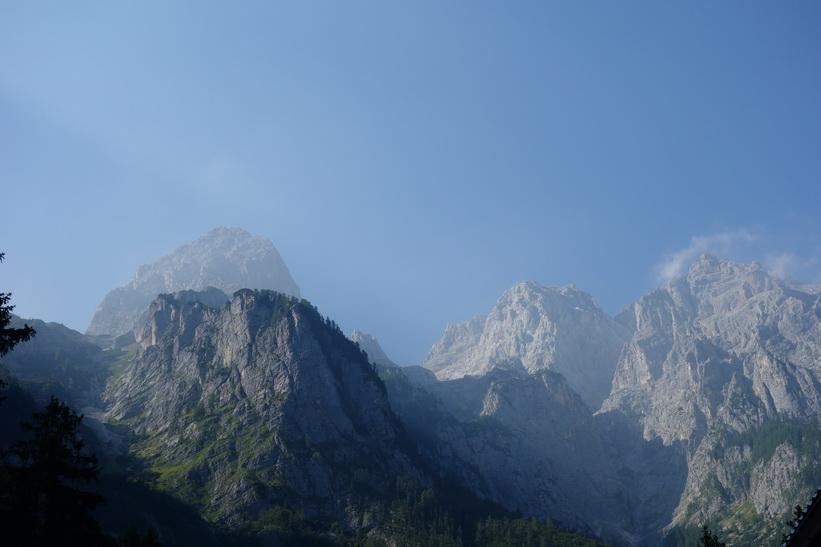 Julianska alpernas högsta berg Škrlatica med sina 2740 meter över havet.