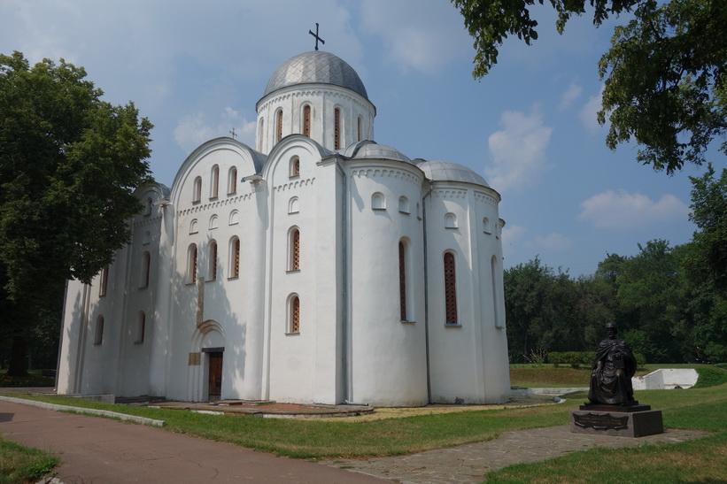 Boris and Gleb Cathedral byggd i början av 1100-talet, Tjernihiv.