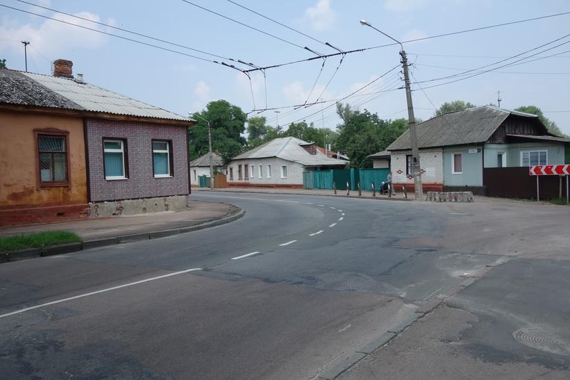 Bostadshus i Tjernihiv.