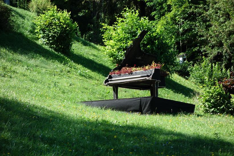 En orgel vid Lake Bled, Bled.