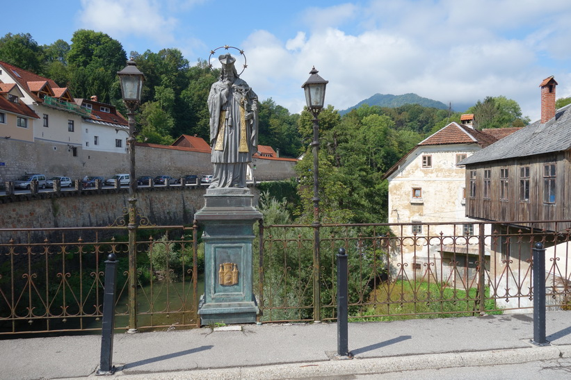 Vackra medeltida Škofja Loka.
