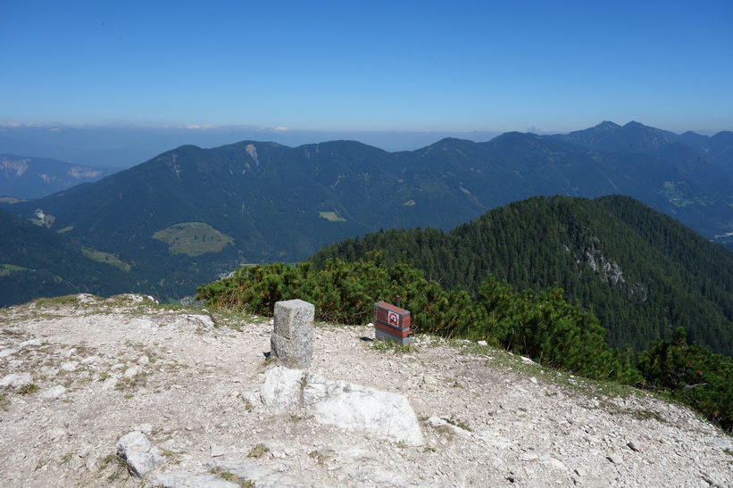 På toppen av Ciprnik.