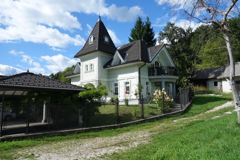 Lyxvilla i Sava-dalen, Radovlica.