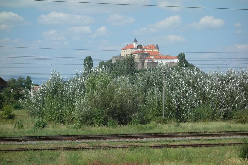 Palanok Castle, Mukacheve, Ukraina.