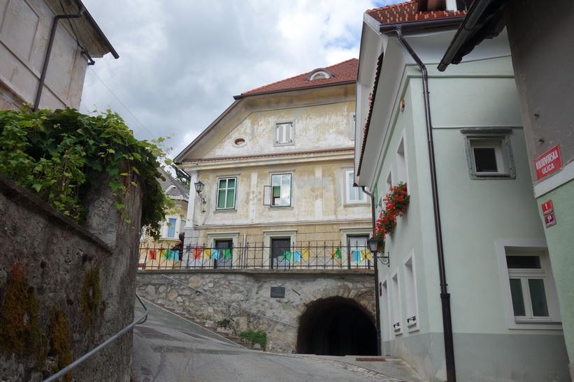 Gamla staden i Radovlica.