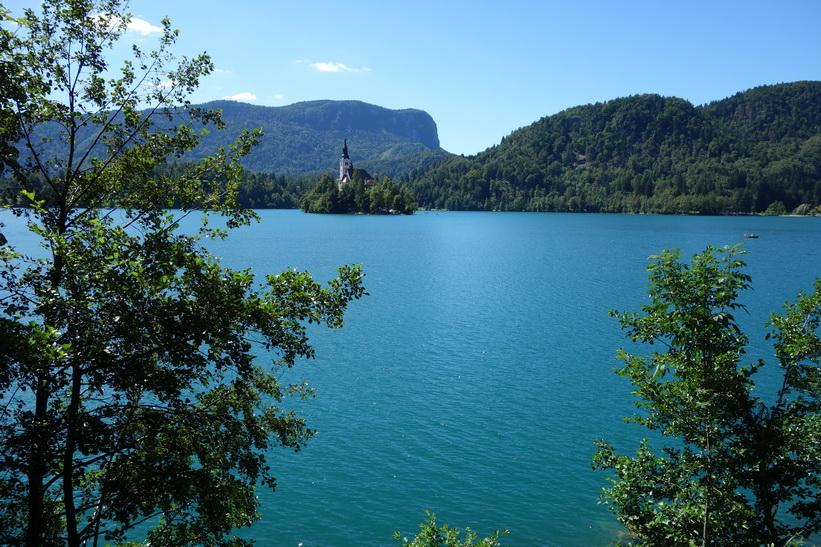 Bled island, Lake Bled.
