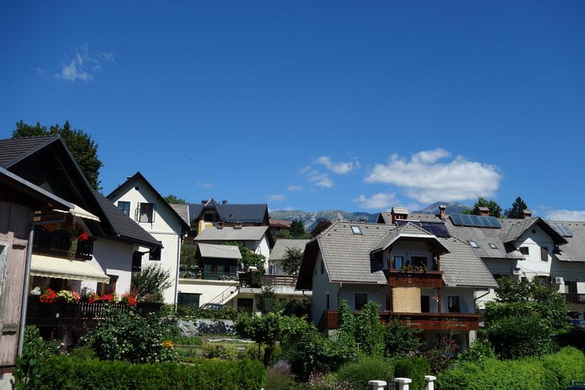 Hus i centrala Bled.
