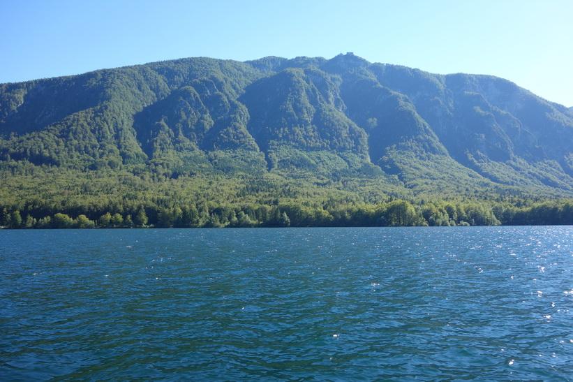 Båtturen på Lake Bohinj.