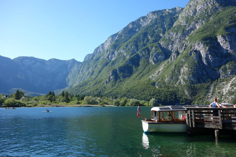 Ukanc, Lake Bohinj.