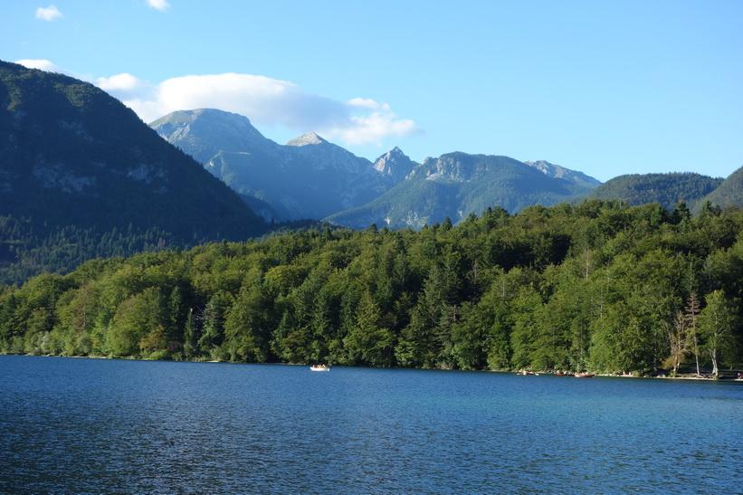 Vackra Lake Bohinj.