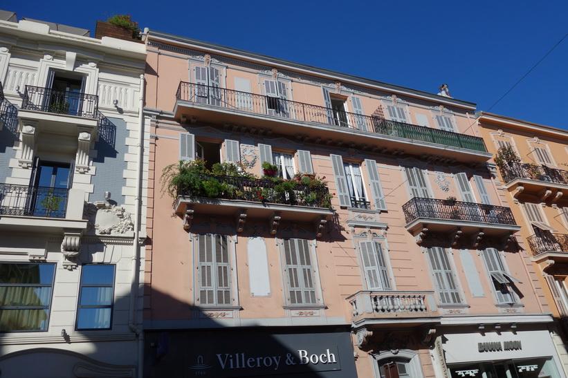 Arkitekturen i downtown Monaco.