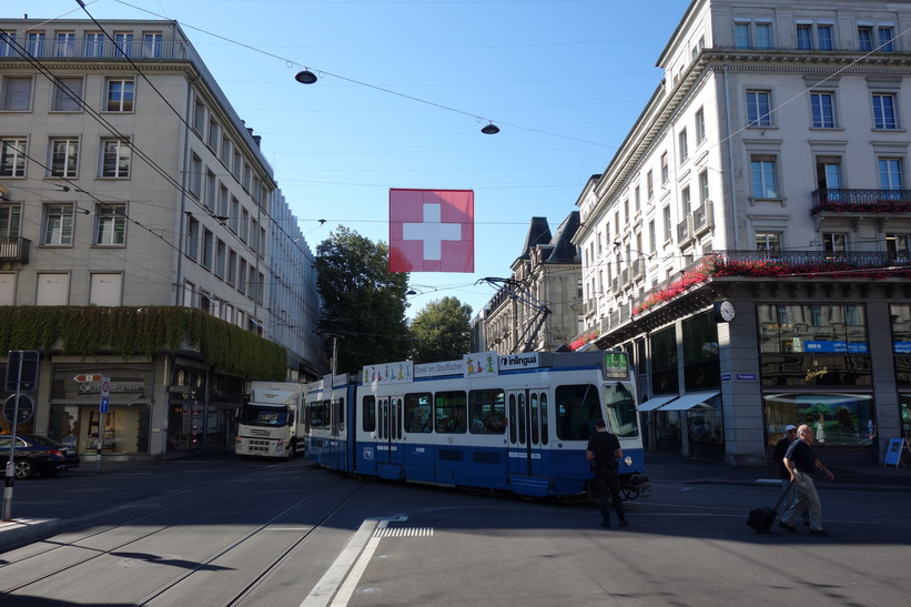 Paradeplatz, Zürich.