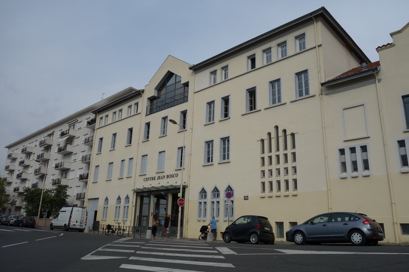 Centre Jean Bosco, mitt boende i Lyon.