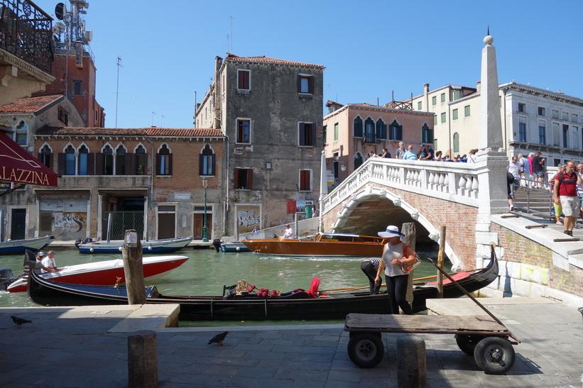 Bron Ponte delle Guglie, Venedig.