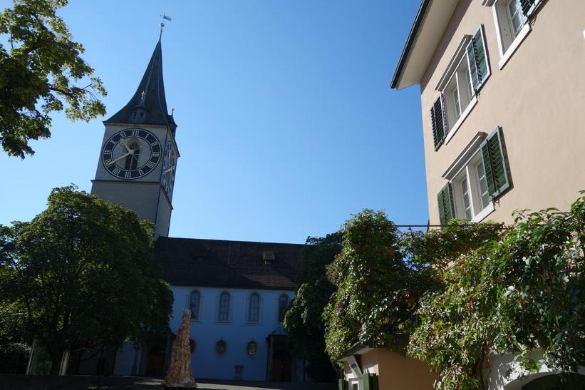 St. Peterskirche, Zürich.