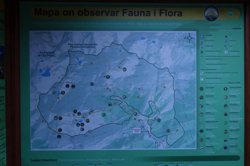 Information om Parc Natural Comunal de les Valls del Comapedrosa i Arinsal.