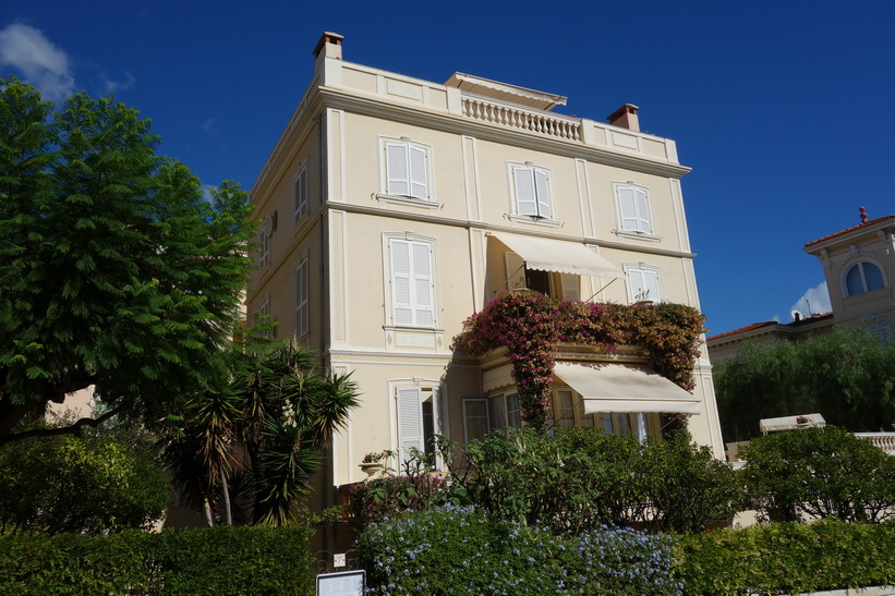 Arkitekturen i gamla staden, Monaco.