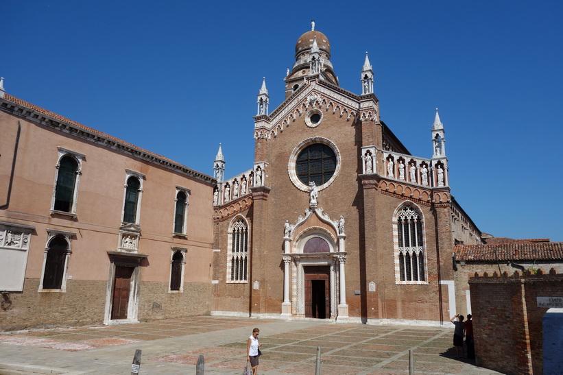 Den katolska kyrkan Church of Madonna dell'Orto, Venedig.