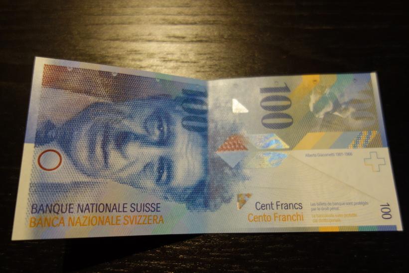 Till och med sedlarna är vackra i Schweiz!
