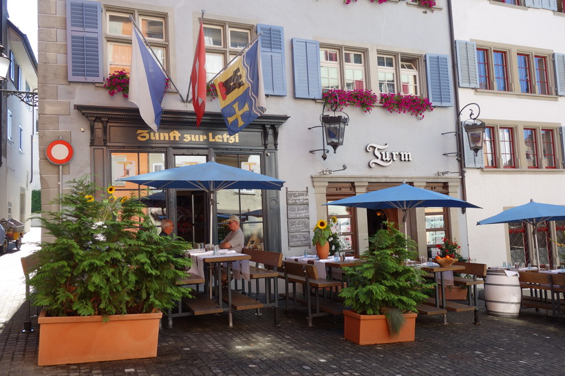 Restaurant Turm, Napfplatz, Zürich.