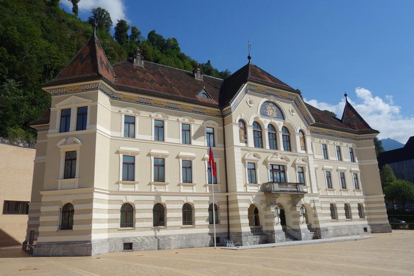 Regierungshaus, Vaduz.