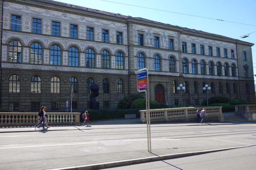 Del av universitetet i Zürich.