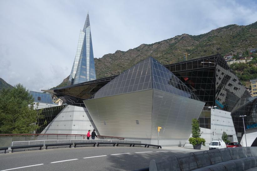 Spa-anläggning Centre Termolúdic Caldea, Andorra la Vella.
